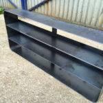 custom mild steel shelf unit