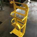 powdercoated stainless steel equipment frame