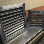 stainless steel louver panels