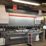 folding machine working